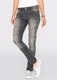 Jean Boyfriend, RAINBOW, gris denim