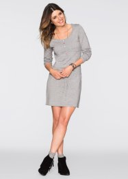 Robe en maille, John Baner JEANSWEAR, gris clair chiné