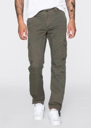 Pantalon cargo Loose Fit Tapered, RAINBOW, olive foncé
