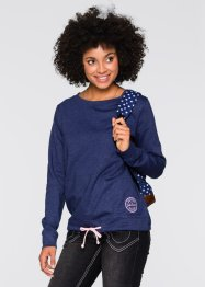 Sweat-shirt, John Baner JEANSWEAR, bleu