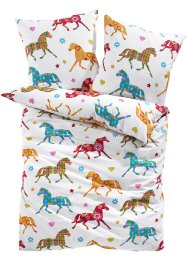 Linge de lit Cheval, bpc living, multicolore