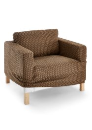 Housse Tricot, bpc living, marron