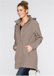 Parka softshell, bpc bonprix collection, taupe