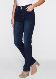 Jean extensible push-up, droit, bpc bonprix collection, dark denim