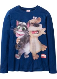 T-shirt à manches longues TALKING TOM ET SES AMIS, Talking Tom and Friends, bleu foncé