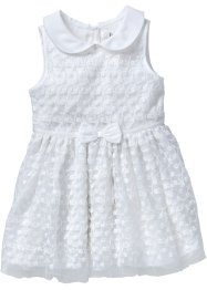 Robe avec tulle, bpc bonprix collection, blanc