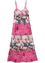 Robe à motif fleuri, bpc bonprix collection, rose flamant imprimé