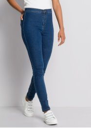 MUST HAVE : Jean skinny taille haute, RAINBOW, bleu stone