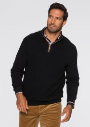 Pull camionneur Regular Fit, bpc selection, noir