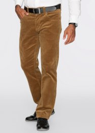 Pantalon en velours côtelé Regular Fit Straight, bpc selection, cognac