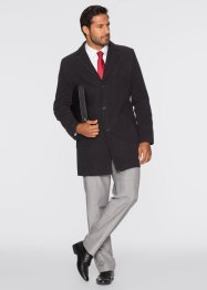 Manteau court, bpc selection, anthracite chiné