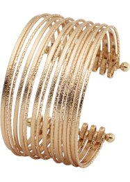 Bracelet multi-rangs, bpc bonprix collection, doré