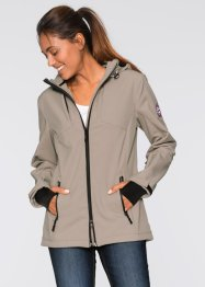 Veste softshell, bpc bonprix collection, taupe