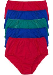 Lot de 5 slips taille haute, bpc selection, multicolore