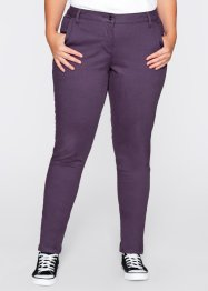 Pantalon chino d'hiver, bpc bonprix collection, myrtille