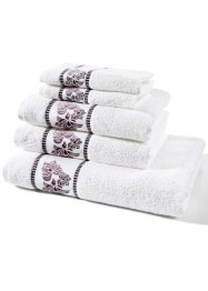Serviette de toilette Rose, bpc living, rose
