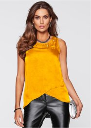 Top-blouse, bpc selection premium, jaune safran