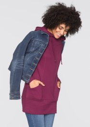 Sweat-shirt long, John Baner JEANSWEAR, prune