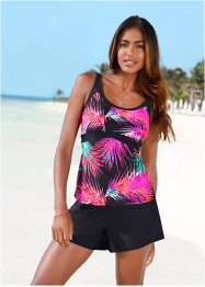 Haut de tankini, bpc bonprix collection, fuchsia/noir