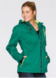 Veste outdoor, bpc bonprix collection, vert menthe chiné