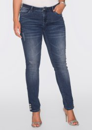 Jean skinny, BODYFLIRT, medium bleu denim