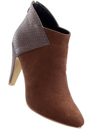 Bottines, bpc selection, marron foncé/taupe