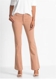 Pantalon Business bootcut, BODYFLIRT, camel