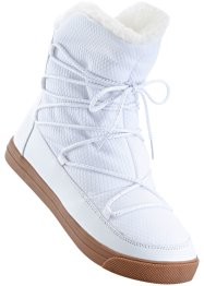 Bottes, bpc bonprix collection, blanc