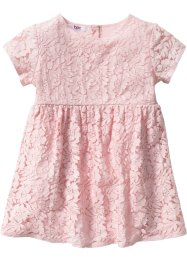 Robe à dentelle, bpc bonprix collection, rose dragée