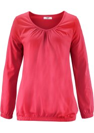 T-shirt manches longues, bpc bonprix collection, rouge