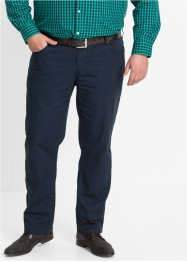 Pantalon 5 poches Regular Fit, Straight, bpc bonprix collection, bleu foncé
