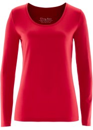 T-shirt extensible, bpc bonprix collection, rouge