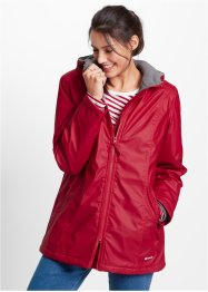 Veste longue doublée, bpc bonprix collection, rouge