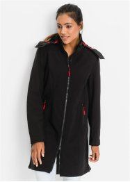 Manteau fonctionnel softshell, bpc bonprix collection, noir
