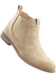 Bottines Chelsea, bpc bonprix collection, beige