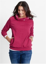 Sweat-shirt, bpc bonprix collection, menthe clair
