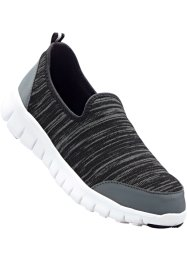 Slippers, bpc bonprix collection, gris foncé