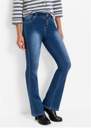 Jean extensible Power Stretch BOOTCUT, John Baner JEANSWEAR, bleu foncé