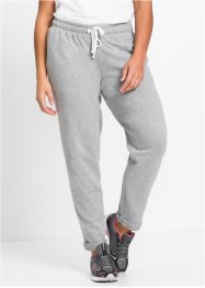 Pantalon sweat de relaxation, bpc bonprix collection, gris clair chiné