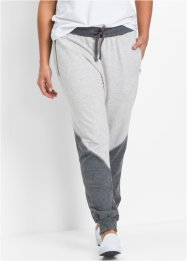 Pantalon matière sweat, bpc bonprix collection, blanc cassé/gris chiné