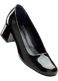 Escarpins en cuir, bpc selection, noir