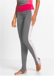 Legging fonctionnel long, bpc bonprix collection, anthracite chiné