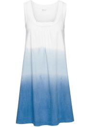 Robe de plage, bpc selection, blanc/bleu