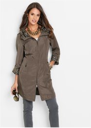 Veste longue, bpc selection, marron moyen
