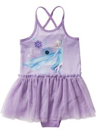 Robe de ballerine REINE DES NEIGES, Disney, rose dragée