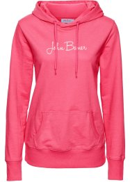 Sweat-shirt manches longues imprimé, John Baner JEANSWEAR, rose hibiscus
