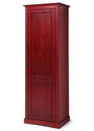 Armoire penderie Naples, bpc living, rouge