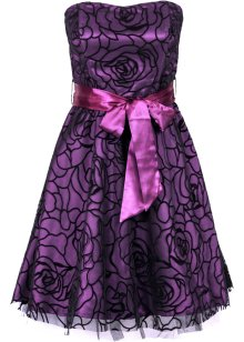 Robe de cocktail, BODYFLIRT, violet