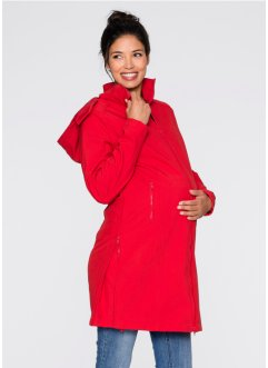 Manteau softshell de grossesse, bpc bonprix collection, fraise