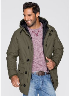 Parka Regular Fit, bpc bonprix collection, olive foncé